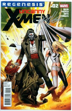 Uncanny X-Men #2 First Print Signed Stan Lee Marvel comic book